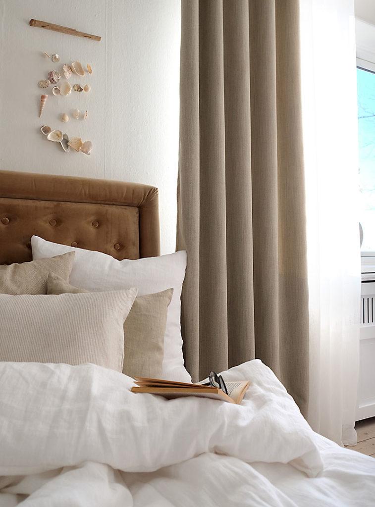 Lysdæmpende gardiner til soverum